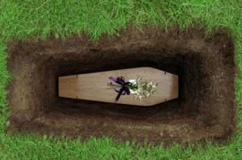 inhumation avec les Pompes funèbres NOSZCZYNSKI